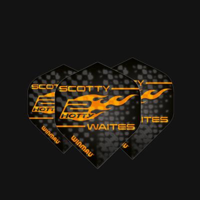 Specialist Players Black & Orange Scott Waites