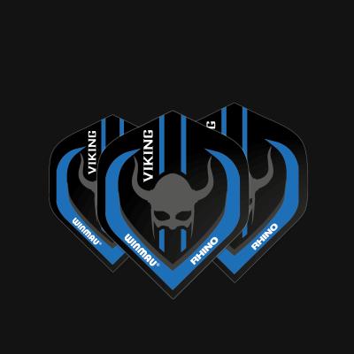 Rhino Players Black & Blue Viking