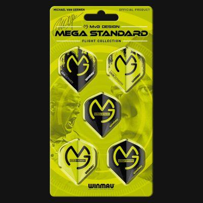 Winmau MvG Mega Standard Flight Collection