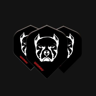 Mega Standard Black & White Devil Dog
