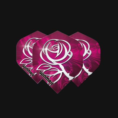 Mega Standard Pink & Silver Rose
