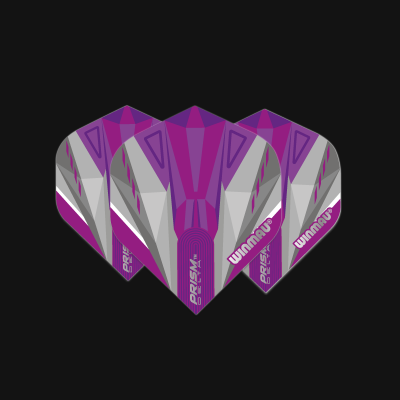 Prism Delta Purple & White