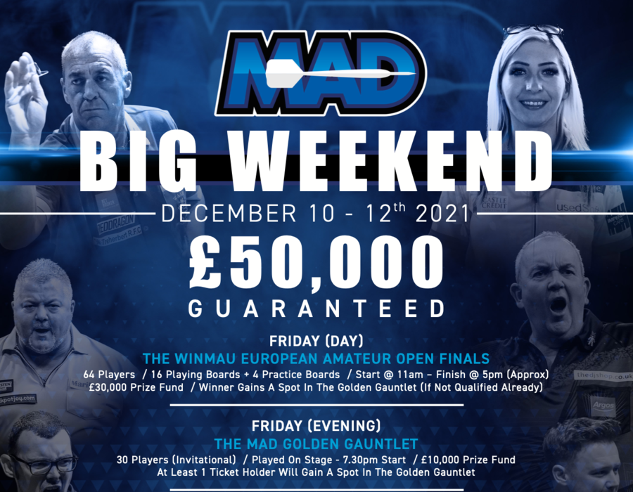 MAD £50,000.00 Big Weekend - December 2021