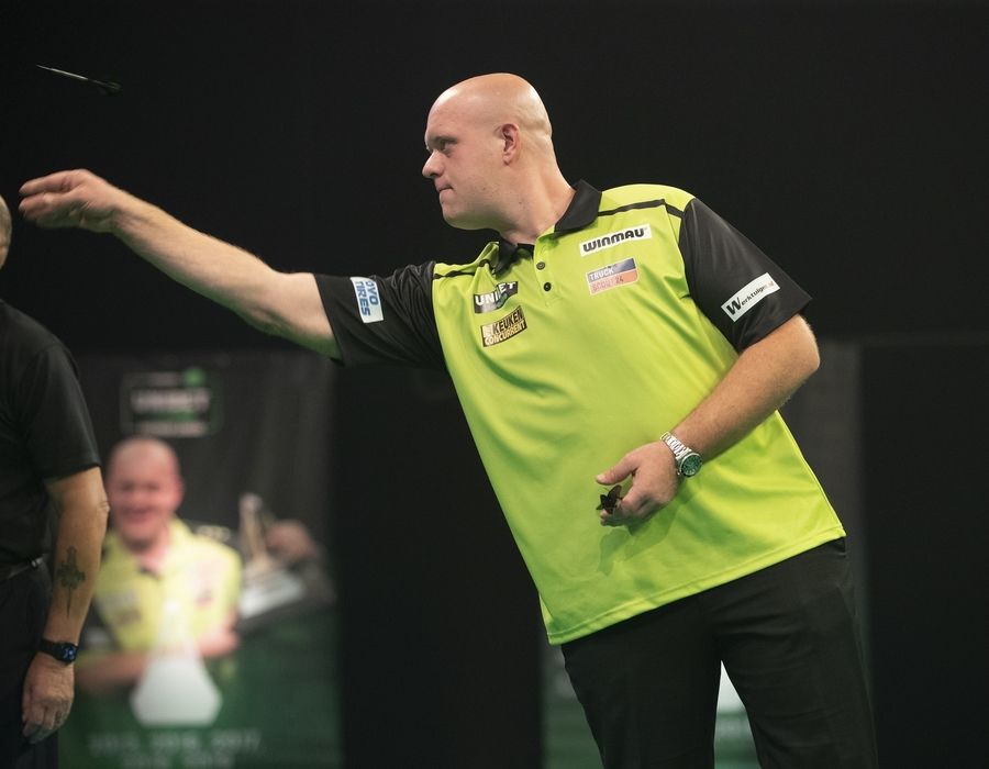 MvG and Joe Cullen drawn in Group A - Grand Slam of Darts Preview