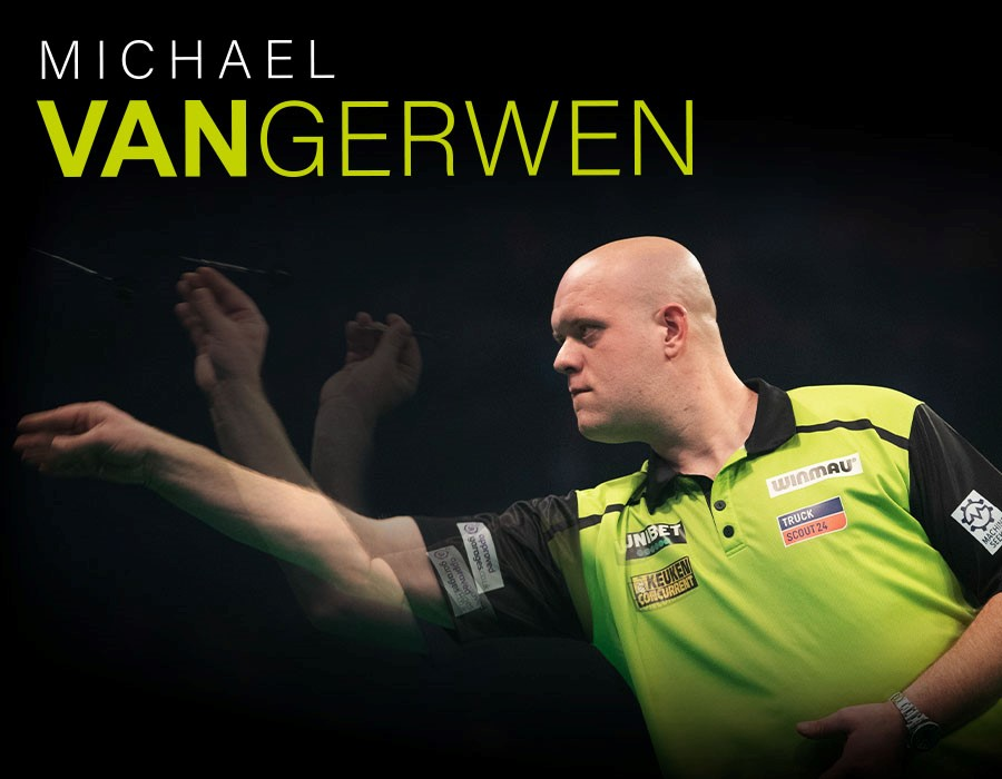 MvG Practice with New Darts Delivers Superb Finishing