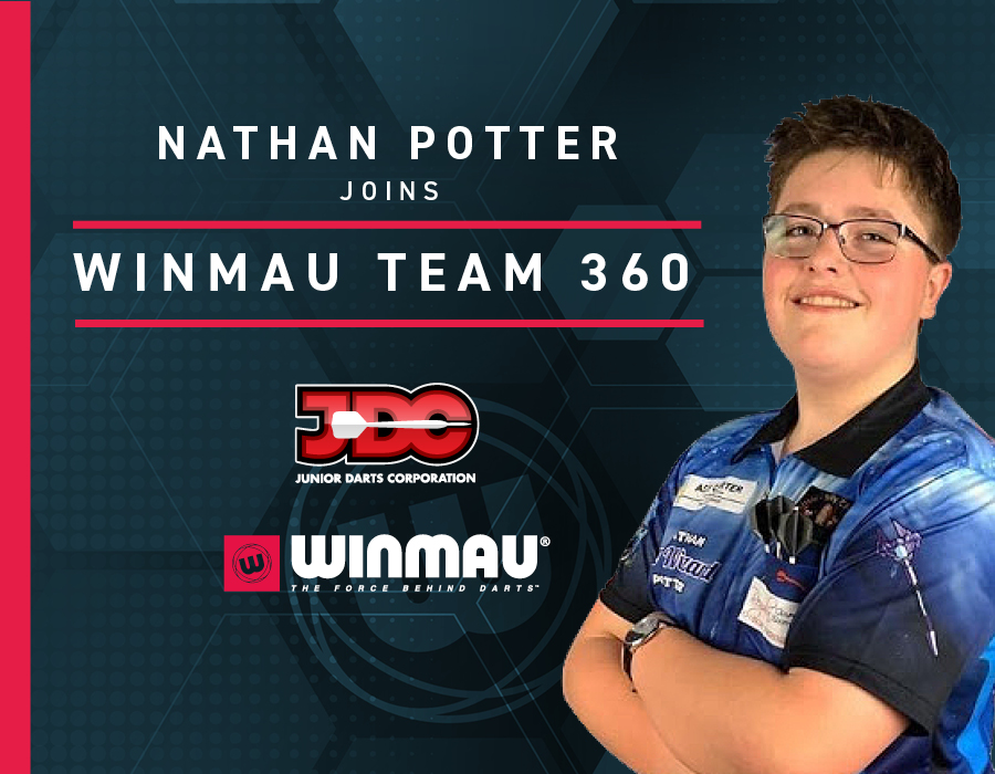 Nathan Potter Joins Winmau Team 360