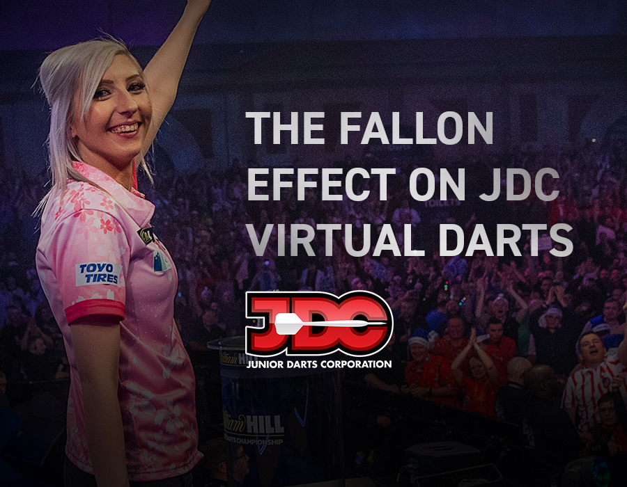 The Fallon Effect on JDC Virtual Darts
