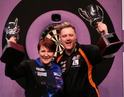 Ashton and Williams 2019 BDO World Trophy Winners