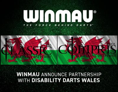 Winmau Announce Partnership with Disability Darts Wales