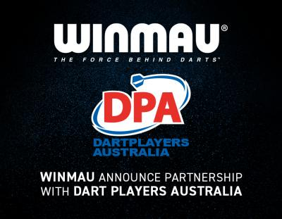 Winmau Announce Partnership with Dart Players Australia
