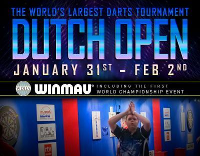 Bauhaus Dutch Open 2020 and Winmau WDDA World Championships – Live on Winmau TV