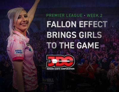 Fallon Effect Brings Girls to the Game