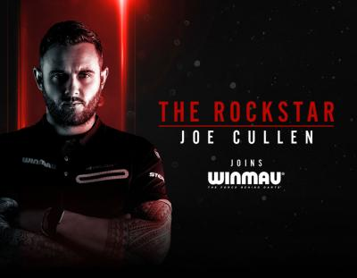 The Rockstar Joe Cullen joins Winmau