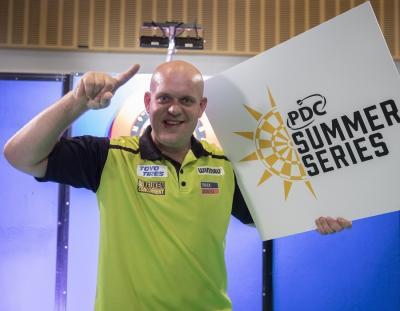 PDC Summer Series Double for Van Gerwen