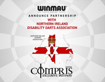 Winmau Announce Partnership with Northern Ireland Disability Darts Association