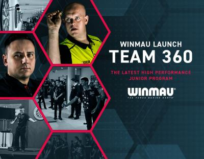 Winmau Launch Team 360 - The Latest High Performance Junior Program