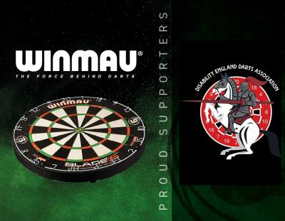 Winmau Announces Partnership with Disability England Darts Association