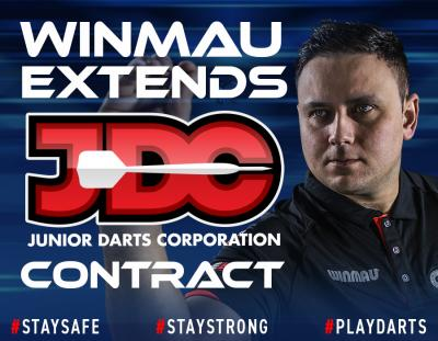 Winmau Extends JDC Contract
