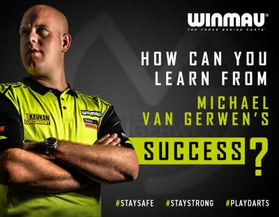 How can you learn from Michael Van Gerwen's success?