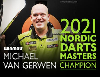 Michael van Gerwen Triumphant at PDC Nordic Masters