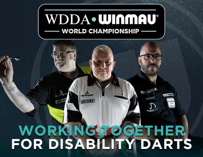 Inaugural WDDA Winmau World Championship to be Held in Conjunction with World's Biggest Open Tournament
