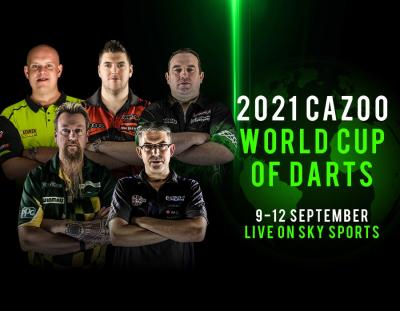 2021 Cazoo World Cup of Darts Preview