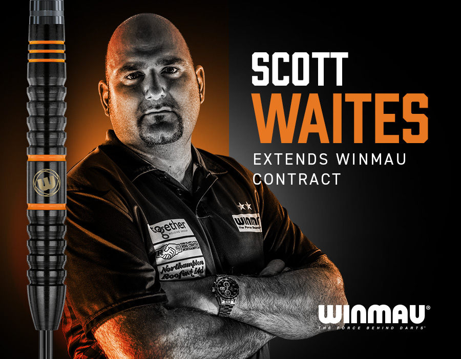 Scott Waites Fire Still Burns Red Hot with New Winmau Contract