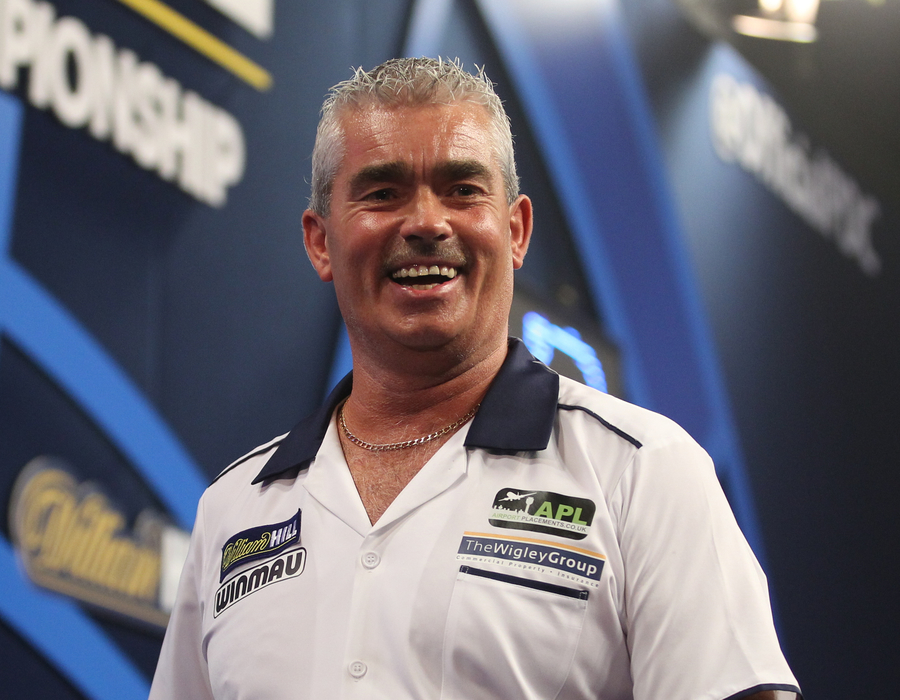 Steve Beaton faces MvG in Landmark 20th Matchplay Appearance