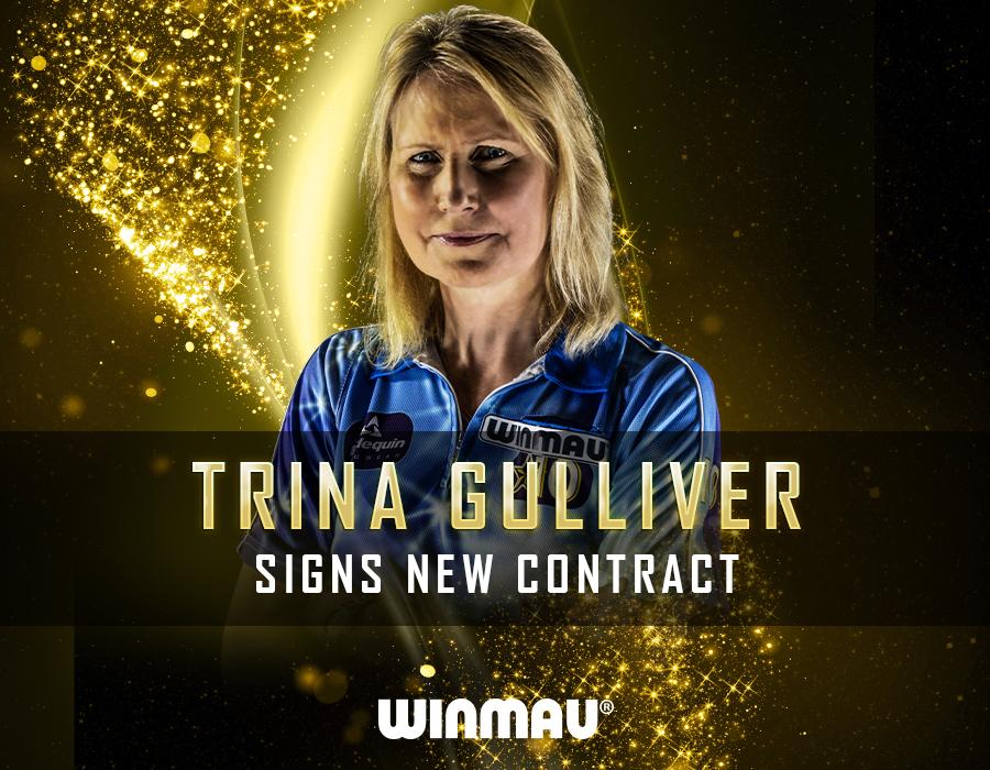 Trina Gulliver Darts Golden Girl Eyes a Big Comeback