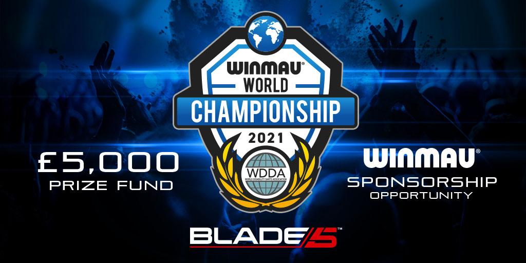 £5,000 Prize Fund and Winmau Sponsorship on Offer for WDDA Winmau World Championship