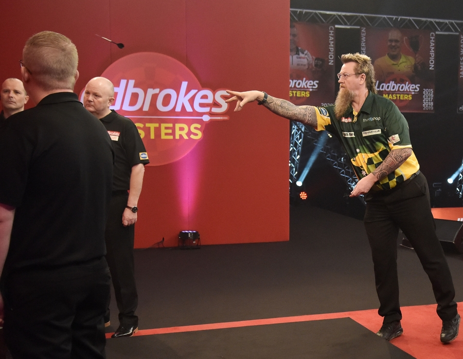 Whitlock Set to Miss Out on Matchplay for First Time since Joining the PDC
