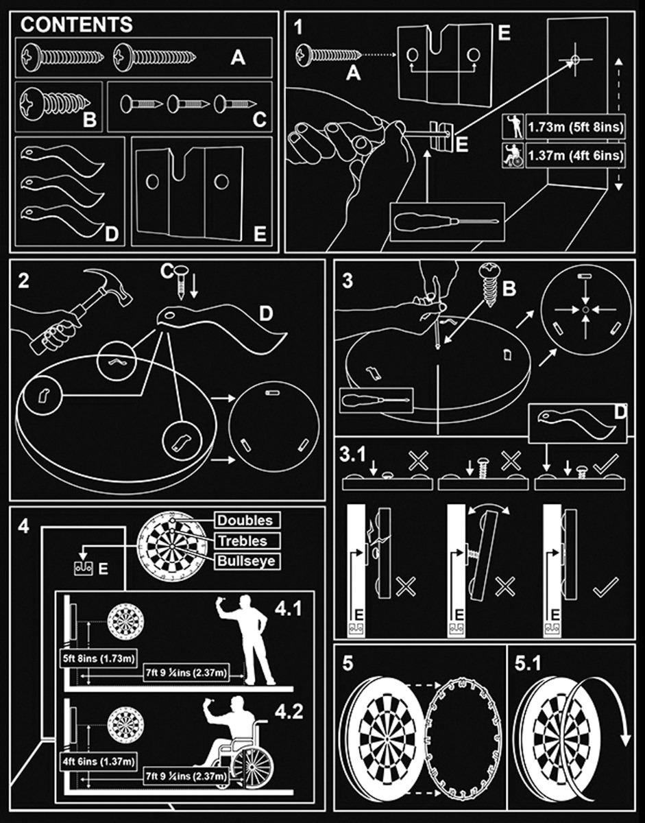 Dartboard Setup