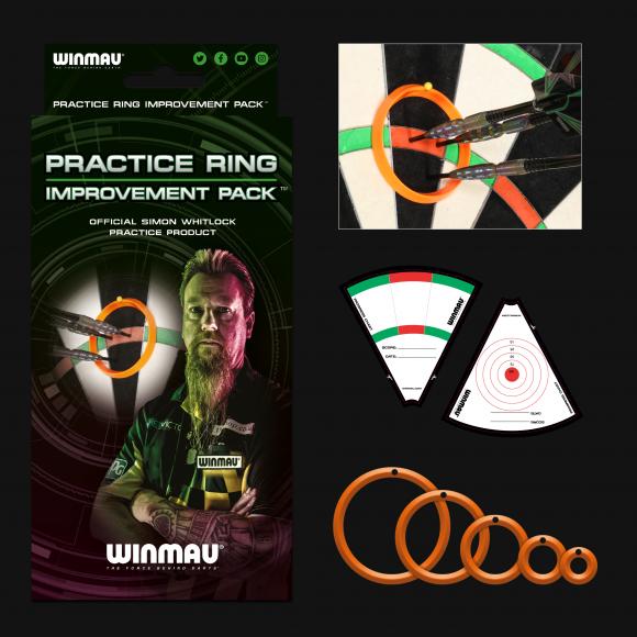 Simon Whitlock Dart Trainings-Kit Winmau Practice Rings