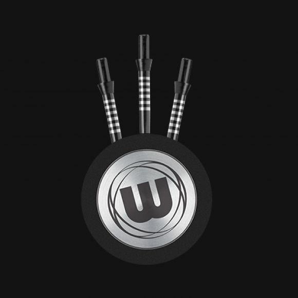 WINMAU FREEFLOW 35mm  BLACK GROOVED STEEL TIP  POINTS