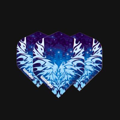 Embossed Standard Blue Ice