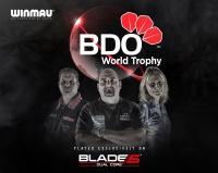 Debutant Borland Flies into Last 16 - BDO World Trophy Day Two Results