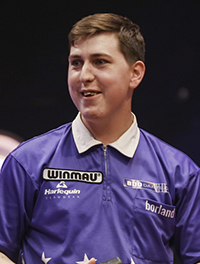 Winmau Signs Scottish Sensation William Borland