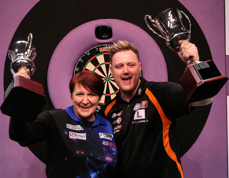 Ashton and Williams 2019 BDO World Trophy Winners