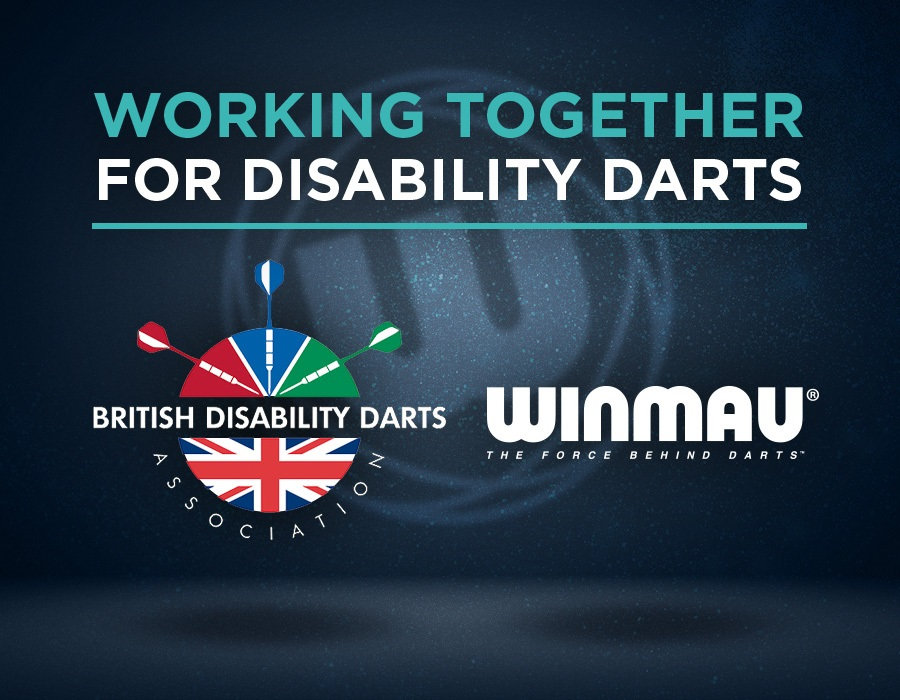 Winmau Re-affirms Commitment to British Disability Darts Association