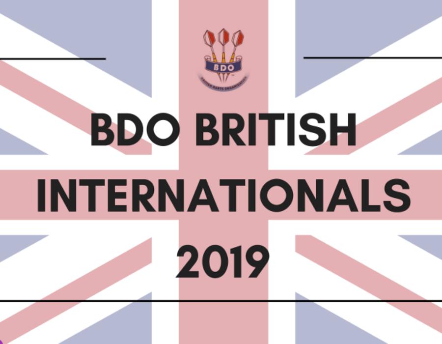 Triple Success for England at Winmau BDO British Internationals