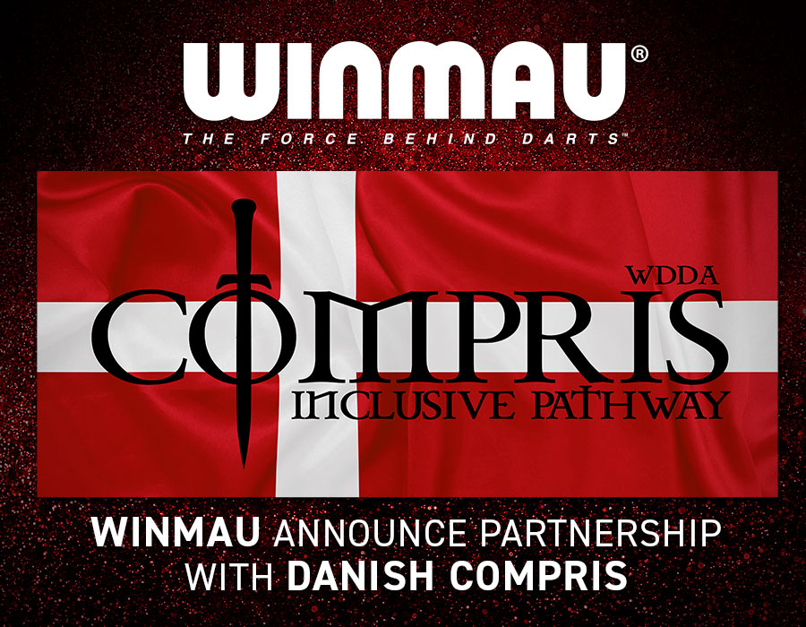 Winmau Partners with Denmark Compris