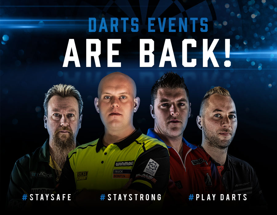 Darts Events Are Back!