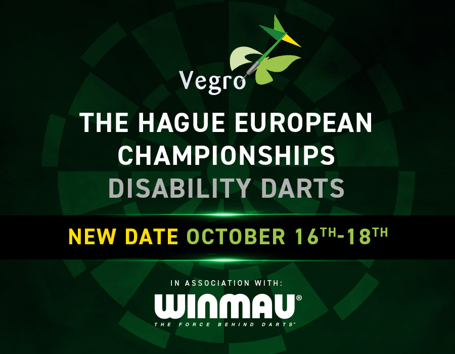 Disability Darts 2020 European Championships - October 16-18