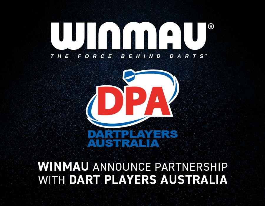 Winmau Announce Partnership with Dart Players Australia