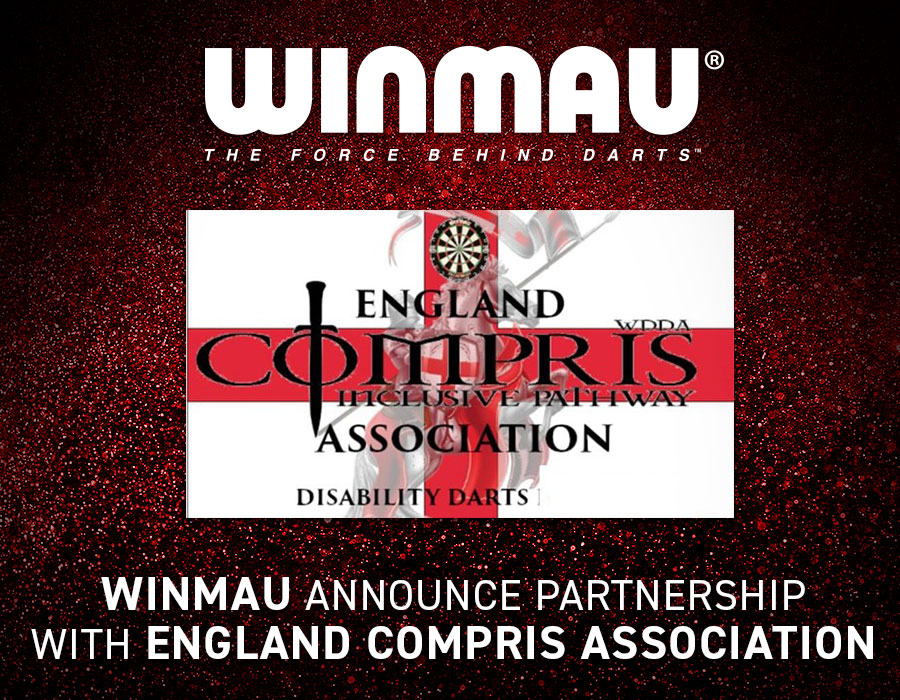 Winmau Announce Partnership with England Compris Association