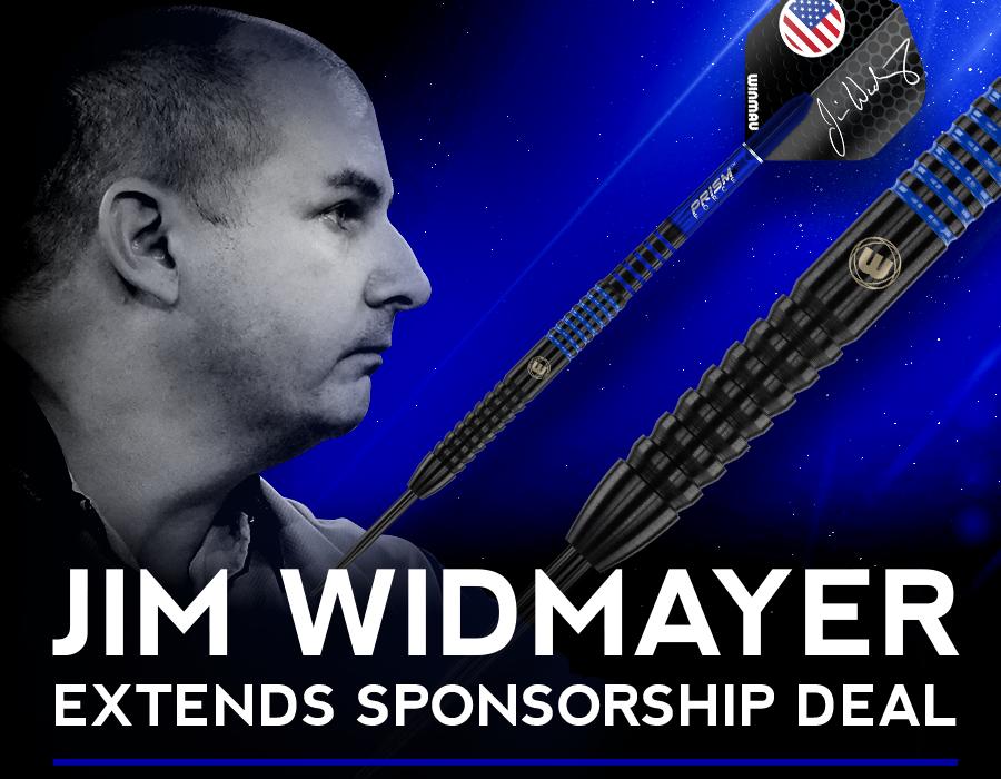 Jim Widmayer Extends Sponsorship deal with Winmau