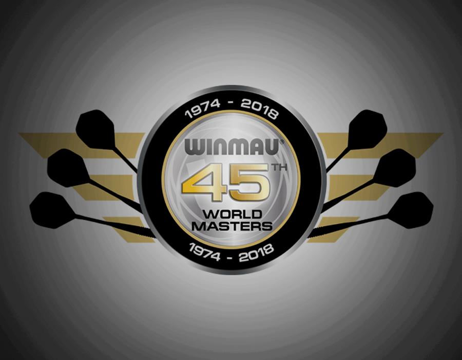 Winmau Signs World Masters Champion Jurjen van der Velde