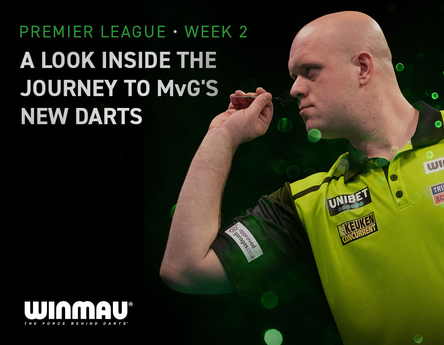 A Look Inside the Journey to MvG's New Darts