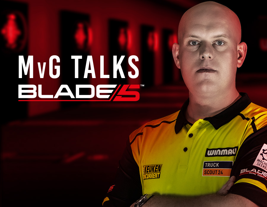 Michael van Gerwen Talks Blade