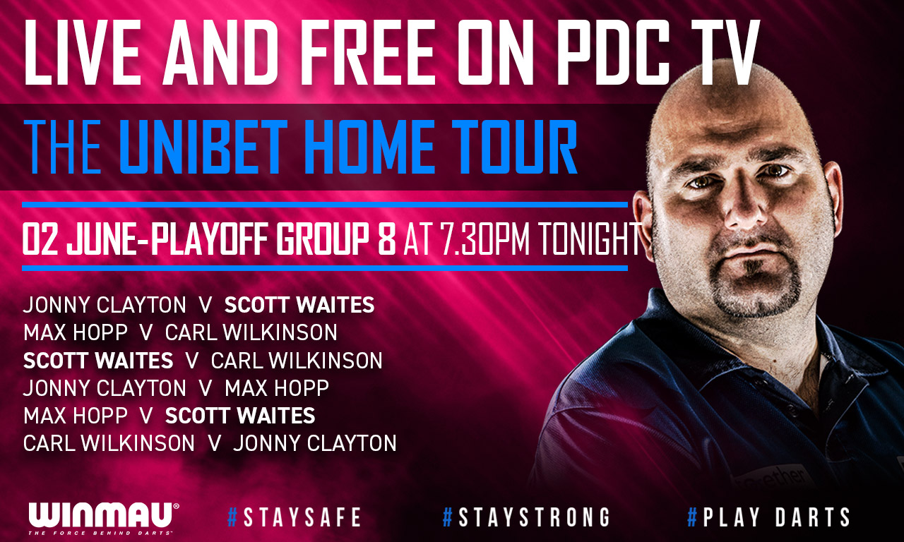 PDC Home Tour - Playoff Group 8